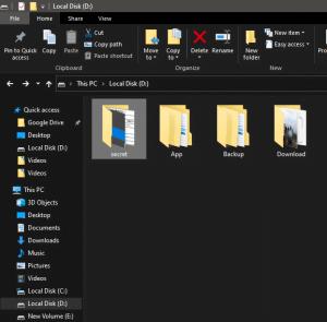 cara menyembunyikan file